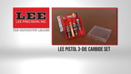 Lee Pistol 3-Die Carbide Set