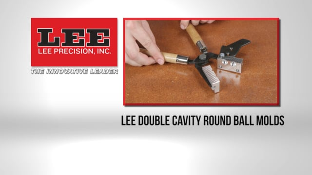 LEE Double Cavity Round Ball Molds